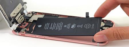 Замена батареи iPhone 7