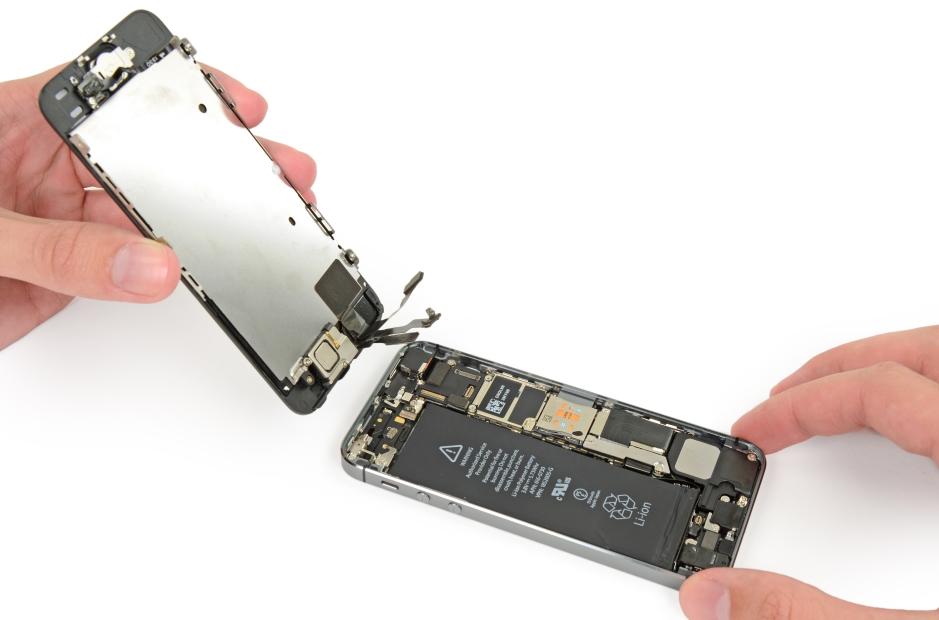 Замена экрана на айфон
