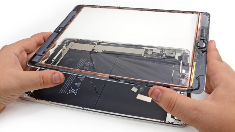 замена аккумулятора на ipad 3 своими руками